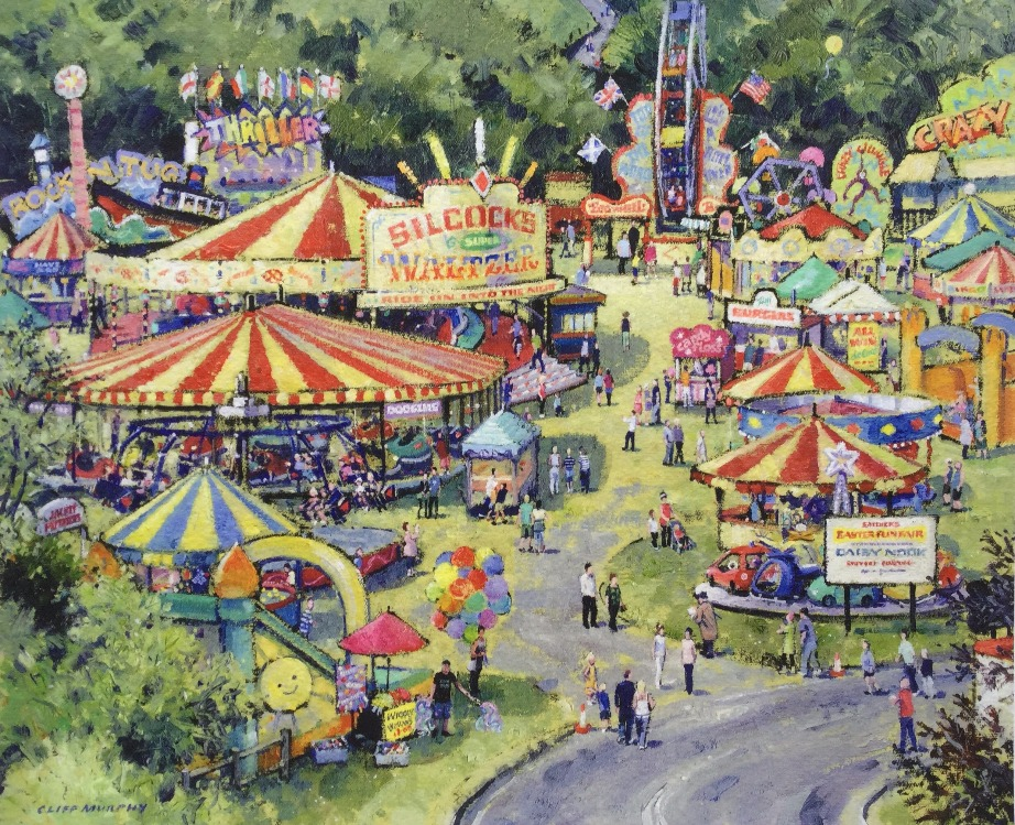 Daisy Nook Easter Fair  by Cliff Murphy