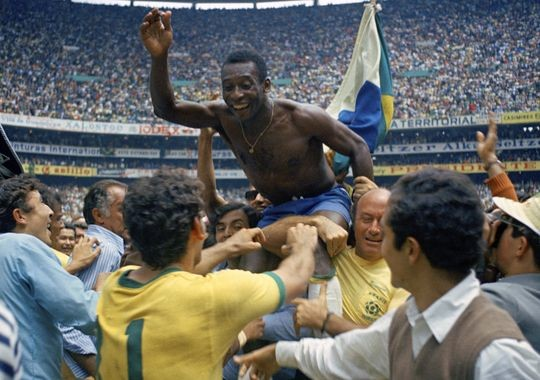 World Cup Victory 1970 by Pele