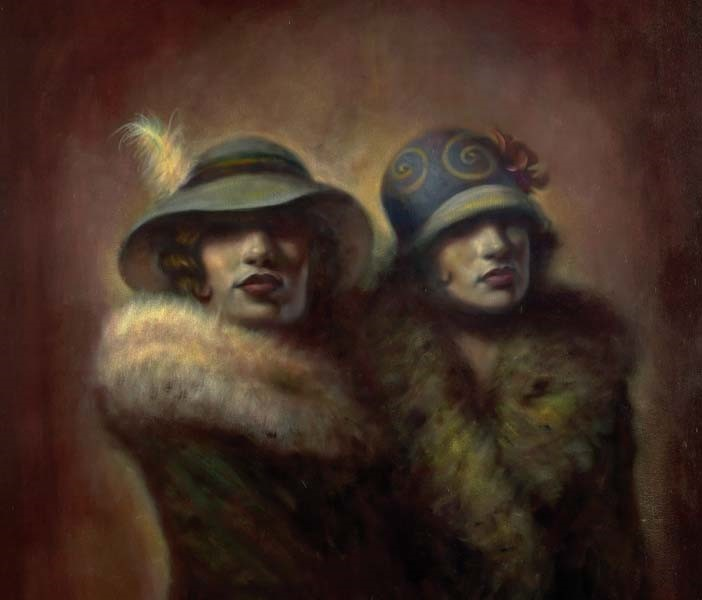 Ladies who Lunch by Hamish Blakely