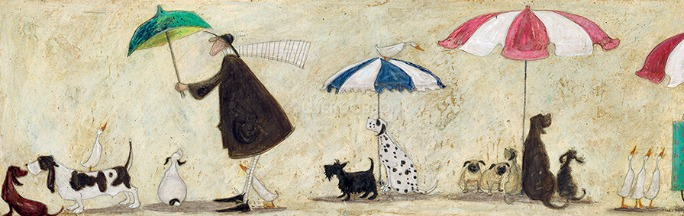 Ducks Mad Dogs & an Englishman by Sam Toft
