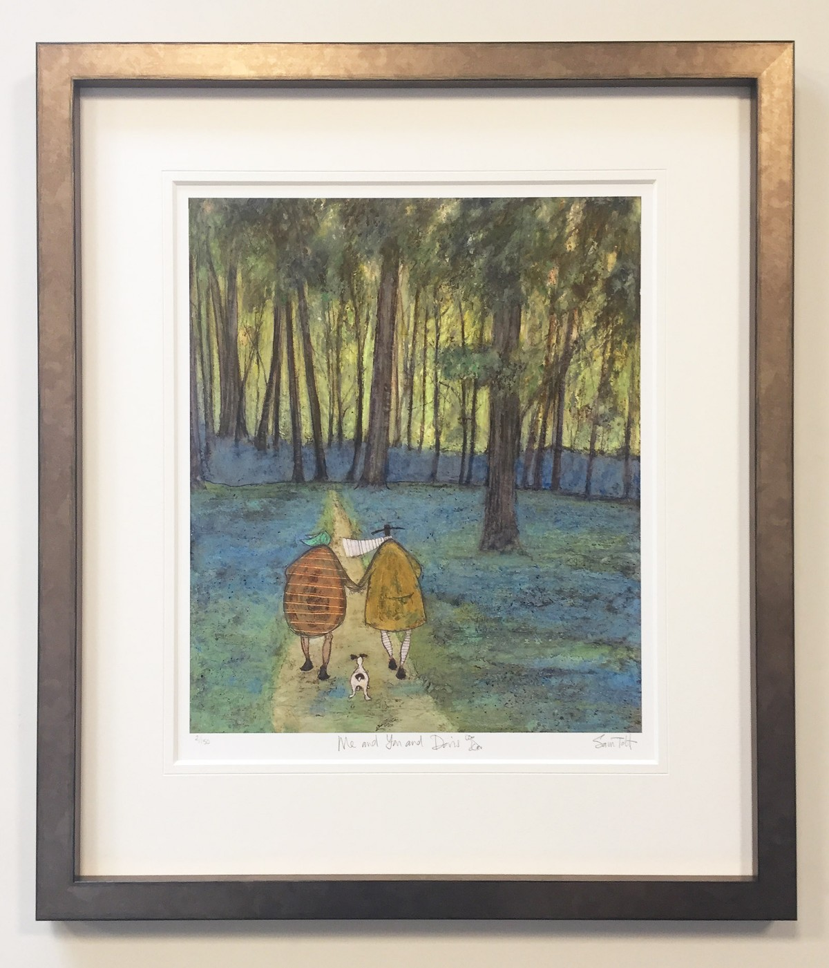 You and Me and Doris 2/150 (Remarque) by Sam Toft