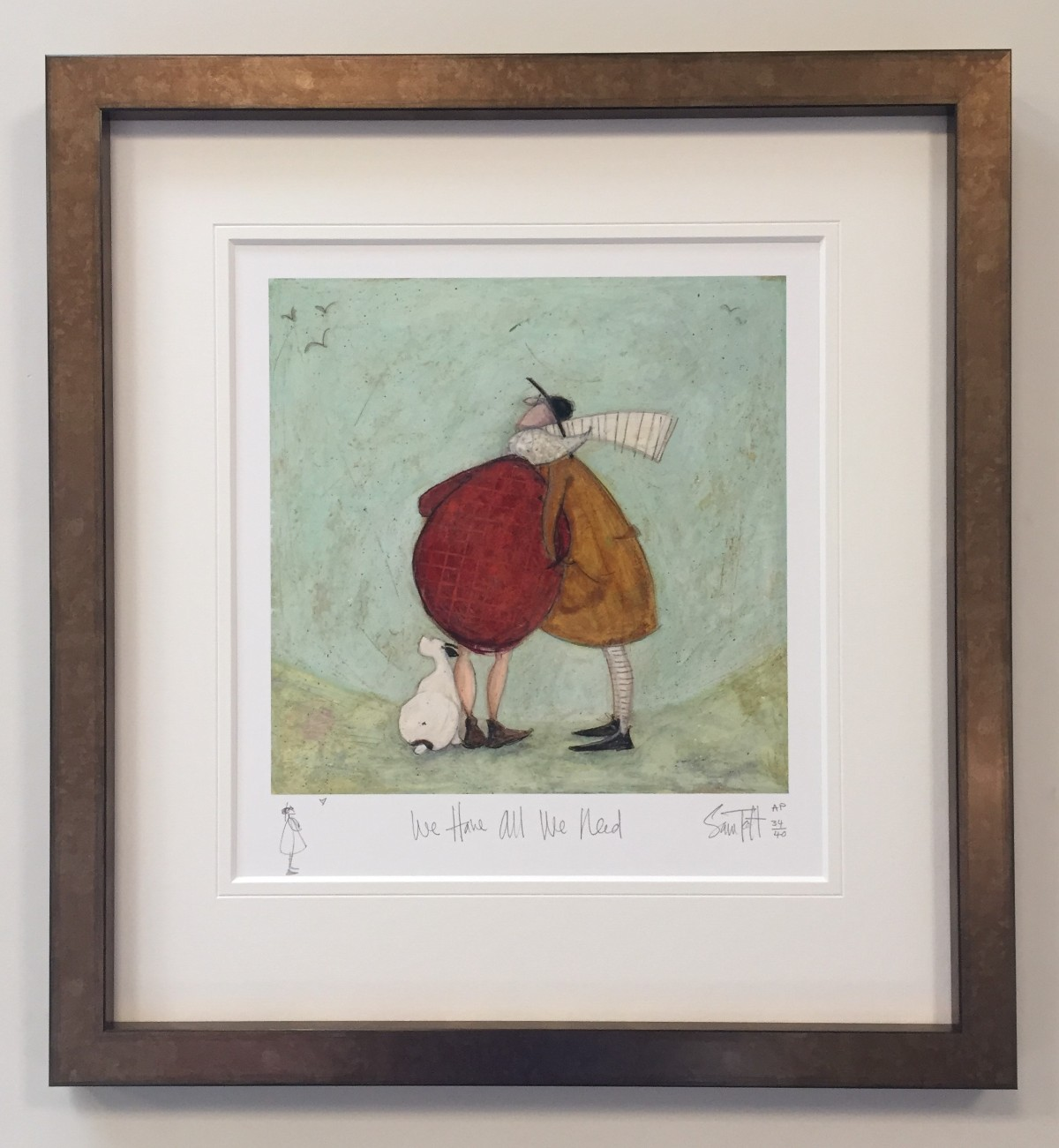 We Have All We Need -  AP Remarque by Sam Toft