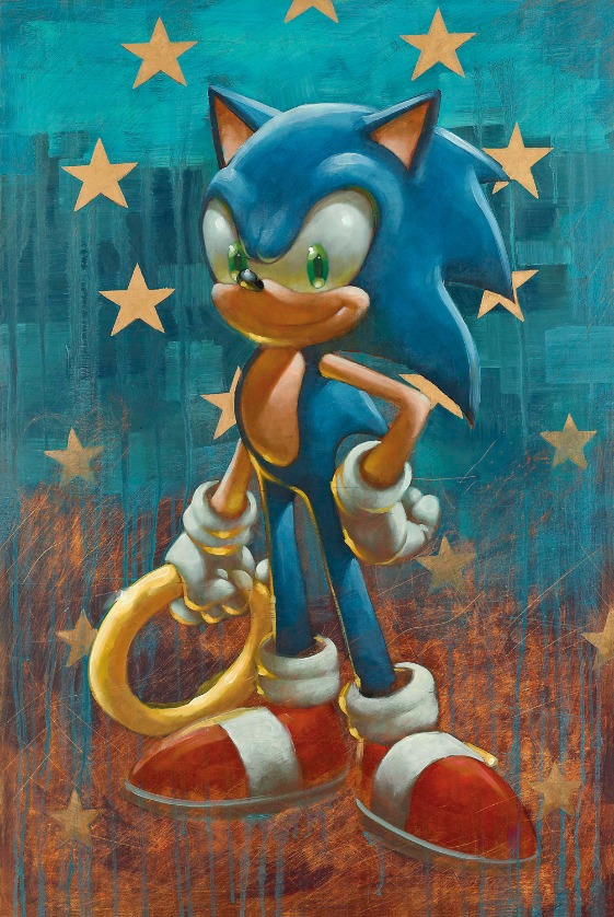 Sonic - Born to Run by Craig Davison