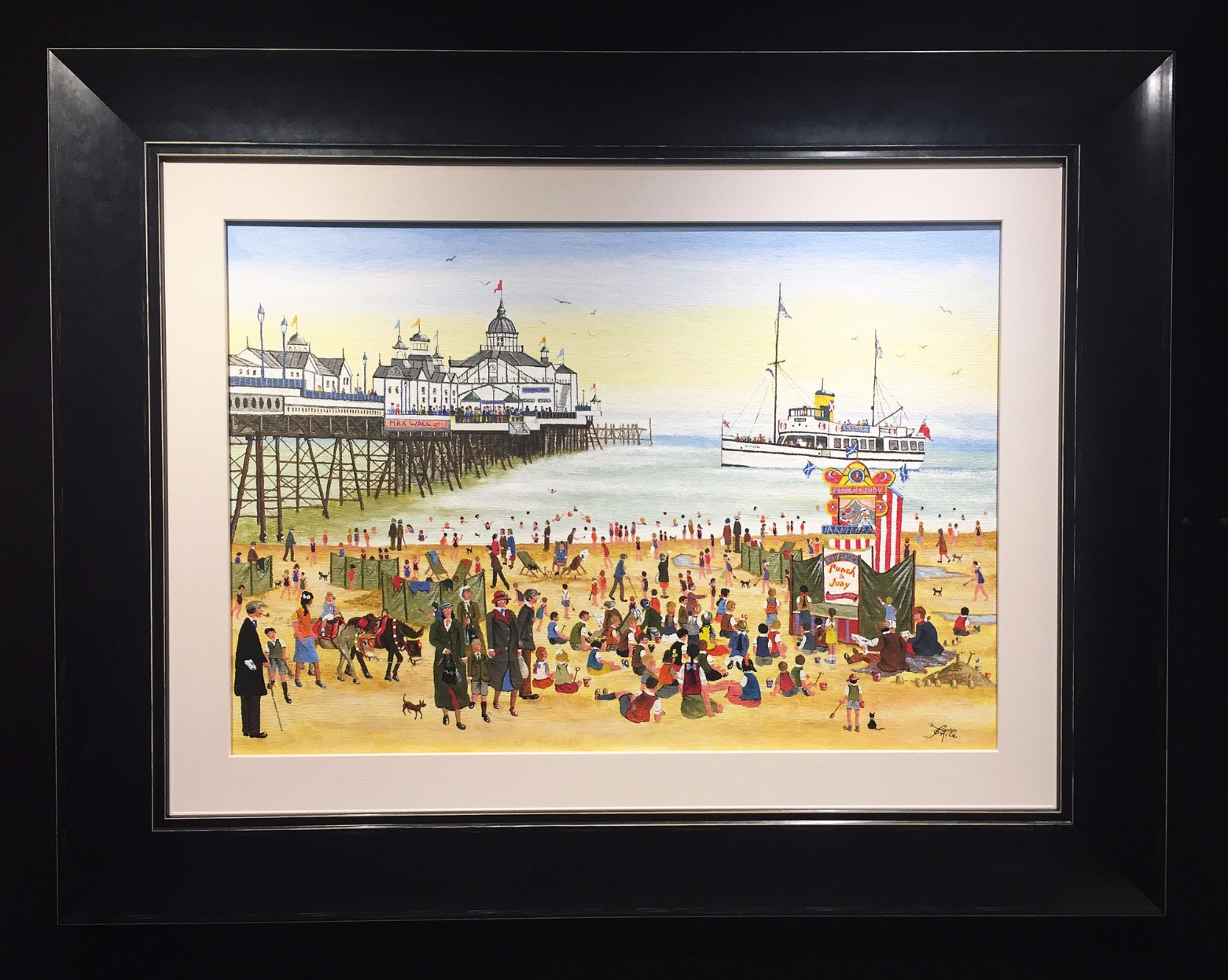 At the Seaside by Allen Tortice