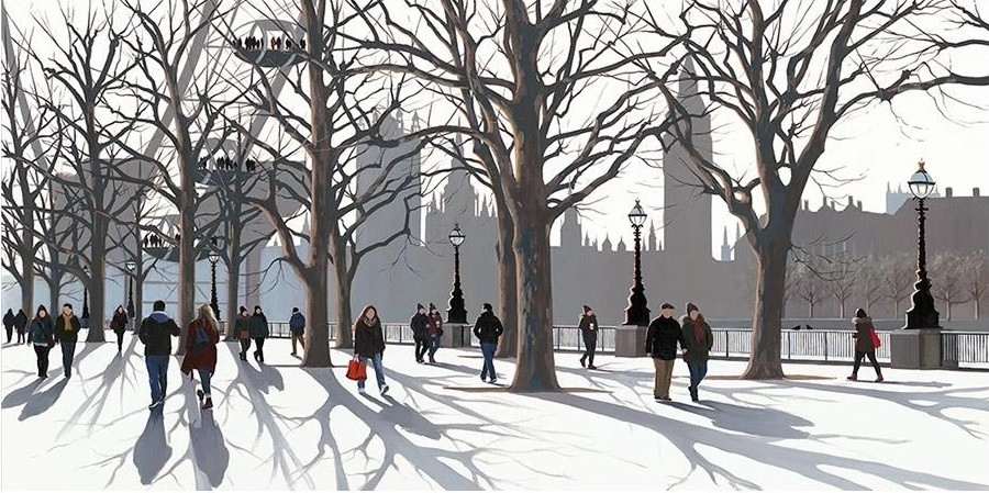 A View of Parliament by Jo Quigley
