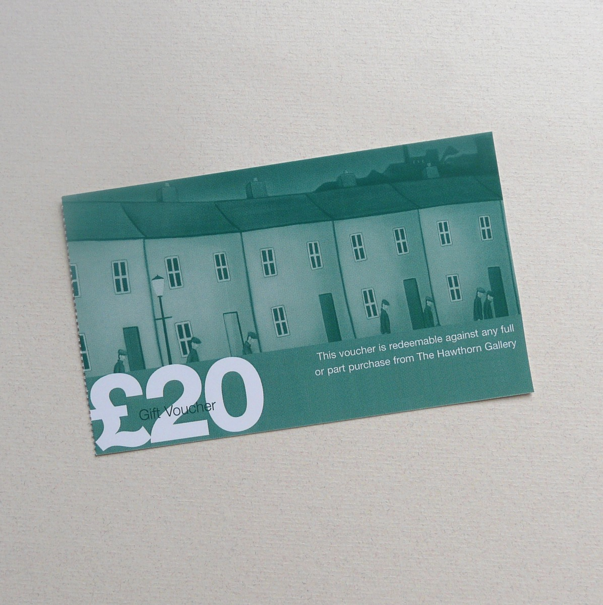 \u00A320 Gift Voucher by The Hawthorn Gallery