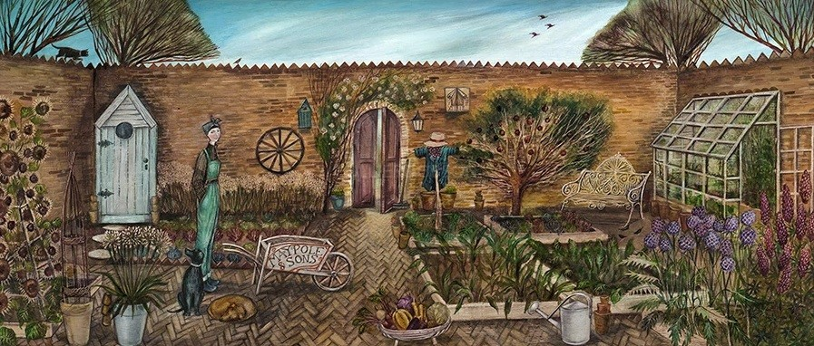 The Walled Garden by Joe Ramm