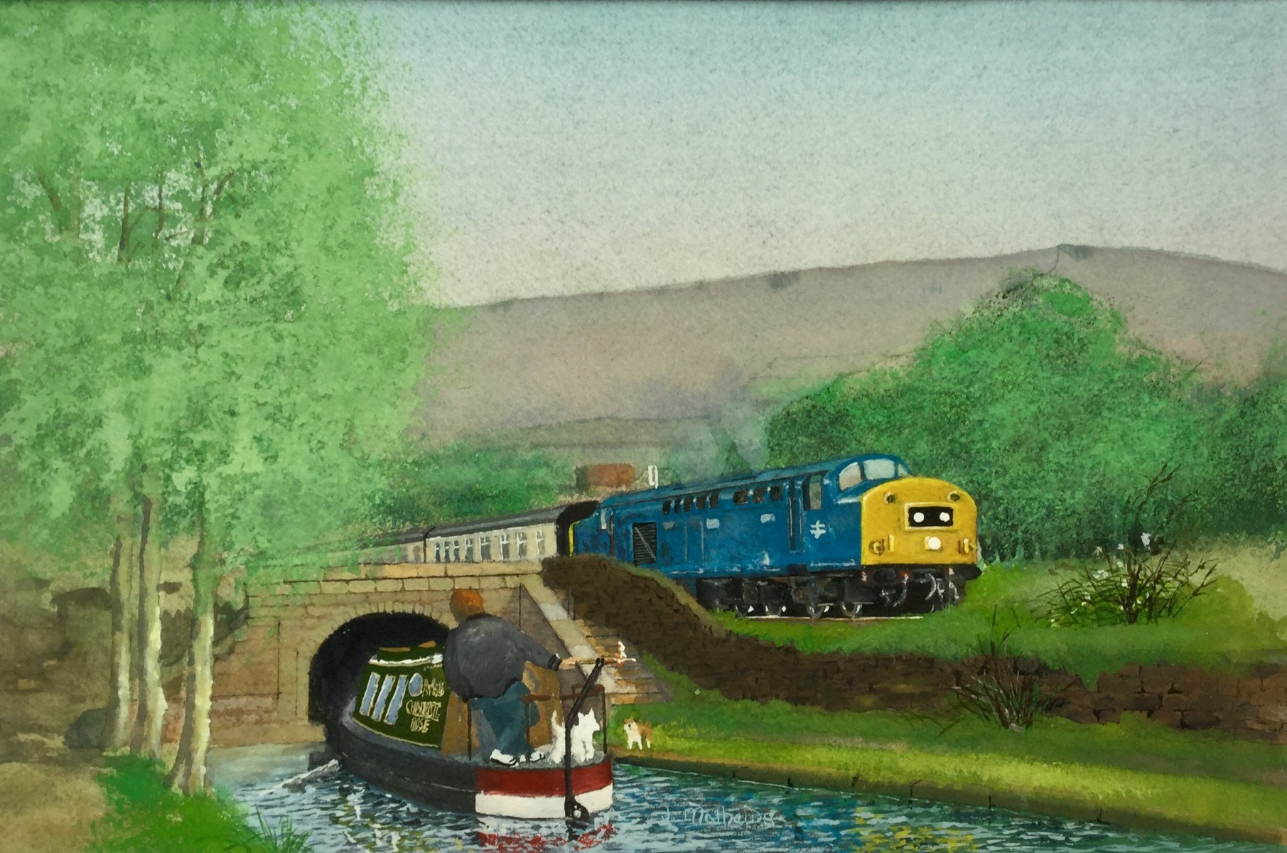 Standedge Tunnels by Jim Mathews