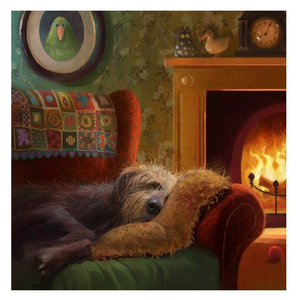 Dog Tired by Stephen Hanson