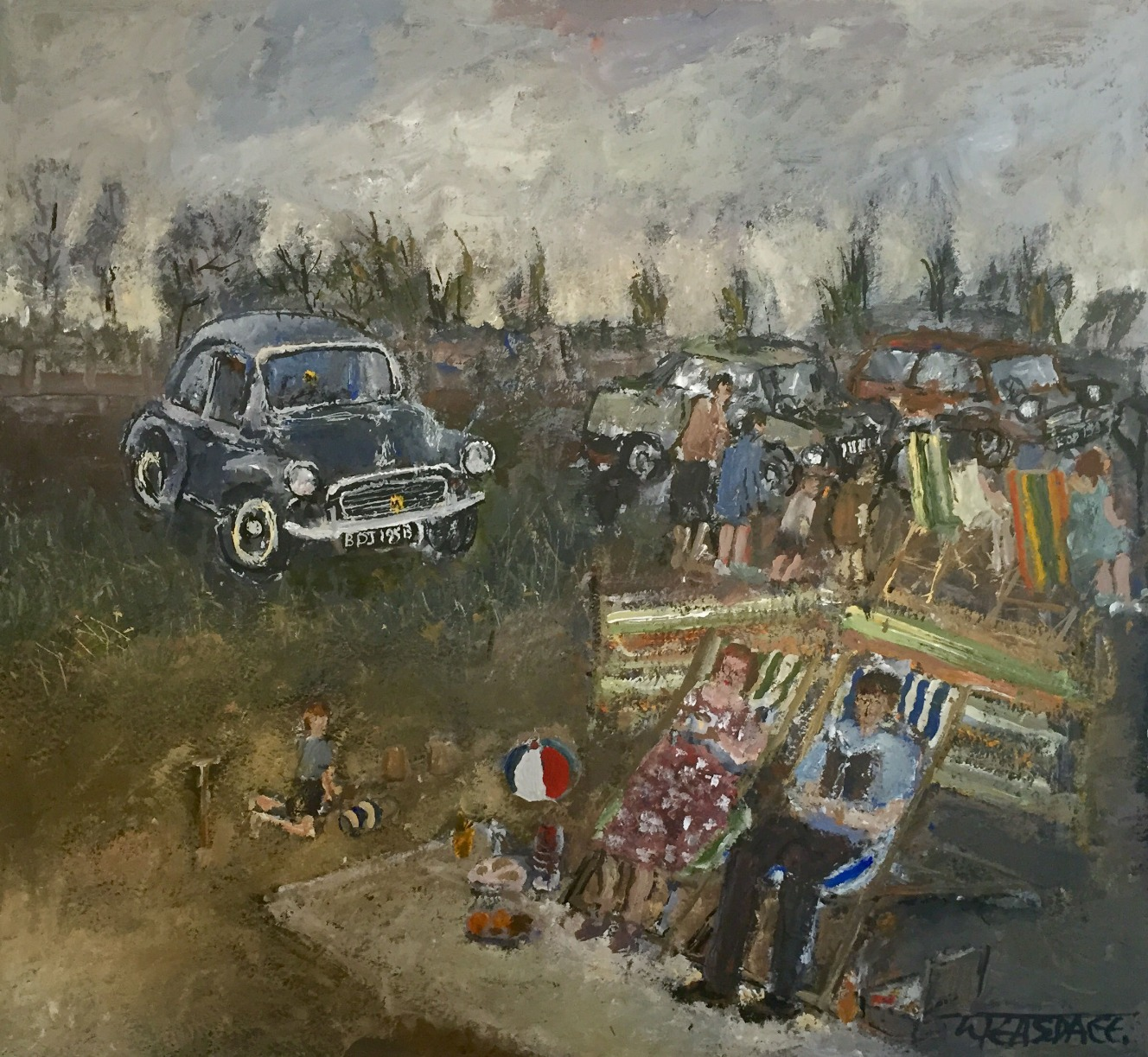 A Family Day Out by Malcolm Teasdale