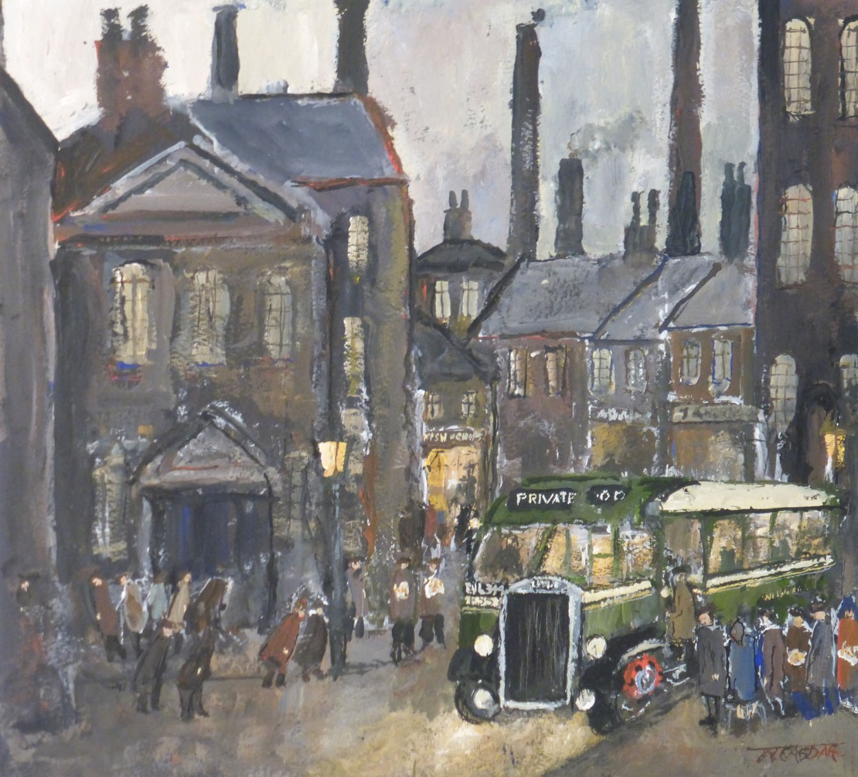 Queuing Up by Malcolm Teasdale