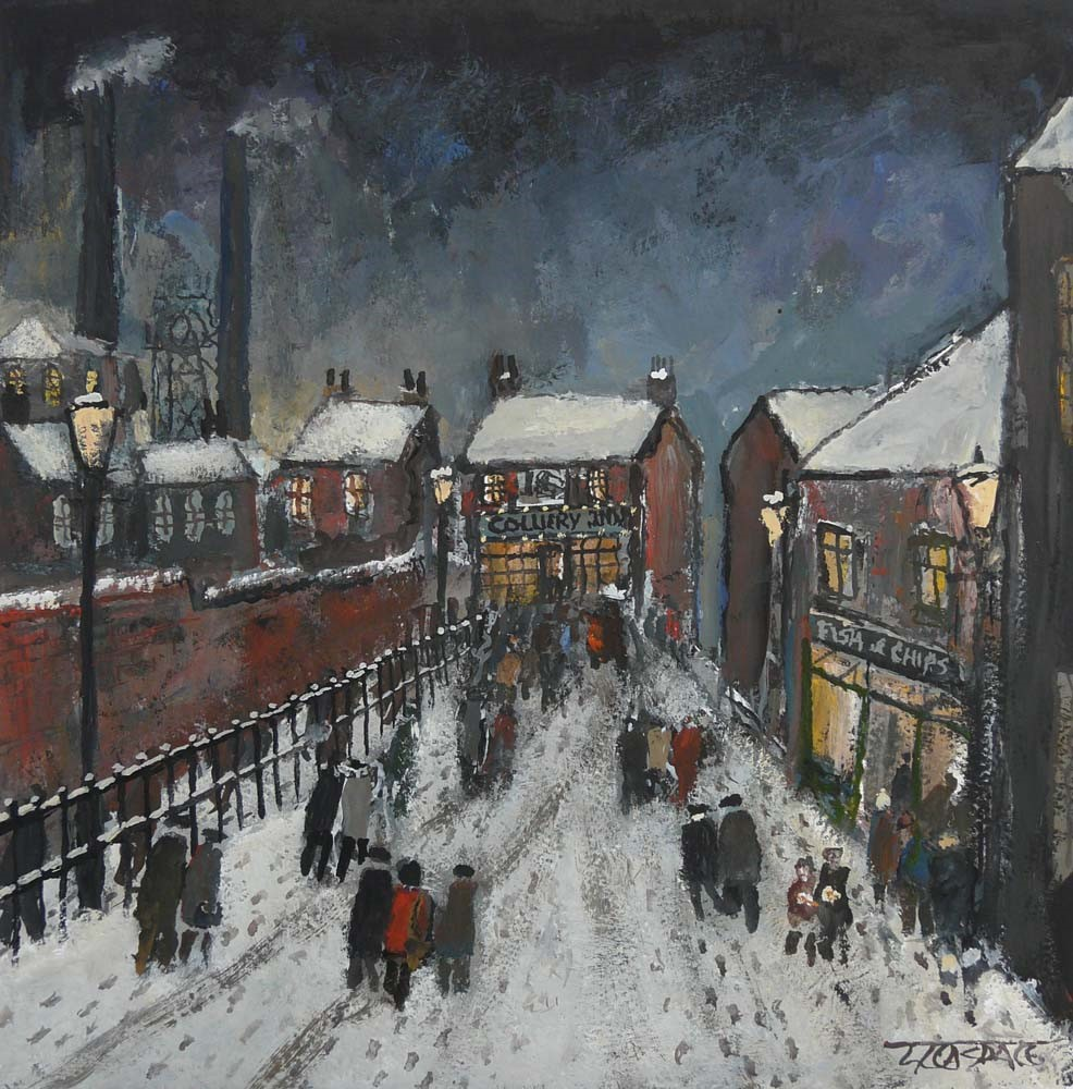Welcome Lights by Malcolm Teasdale