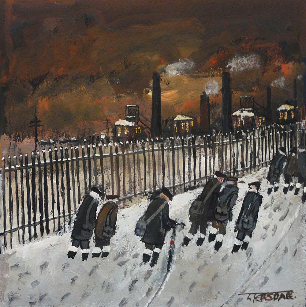 Footsteps by Malcolm Teasdale