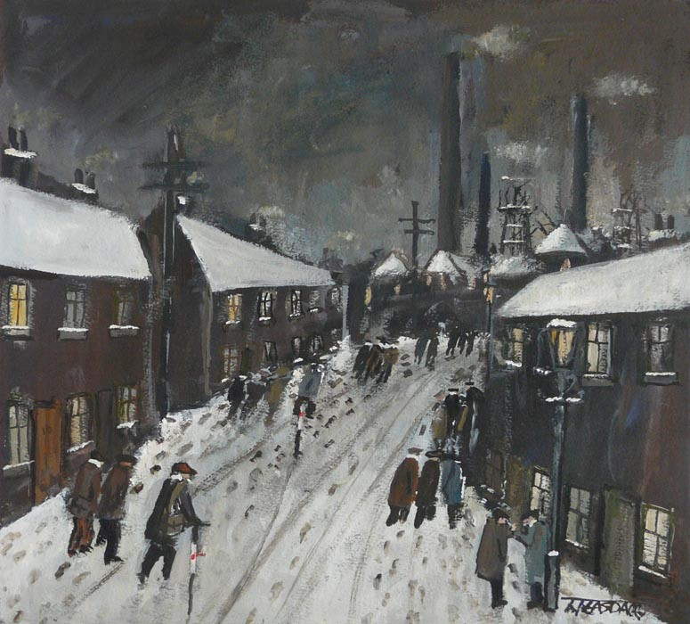 First Shift by Malcolm Teasdale