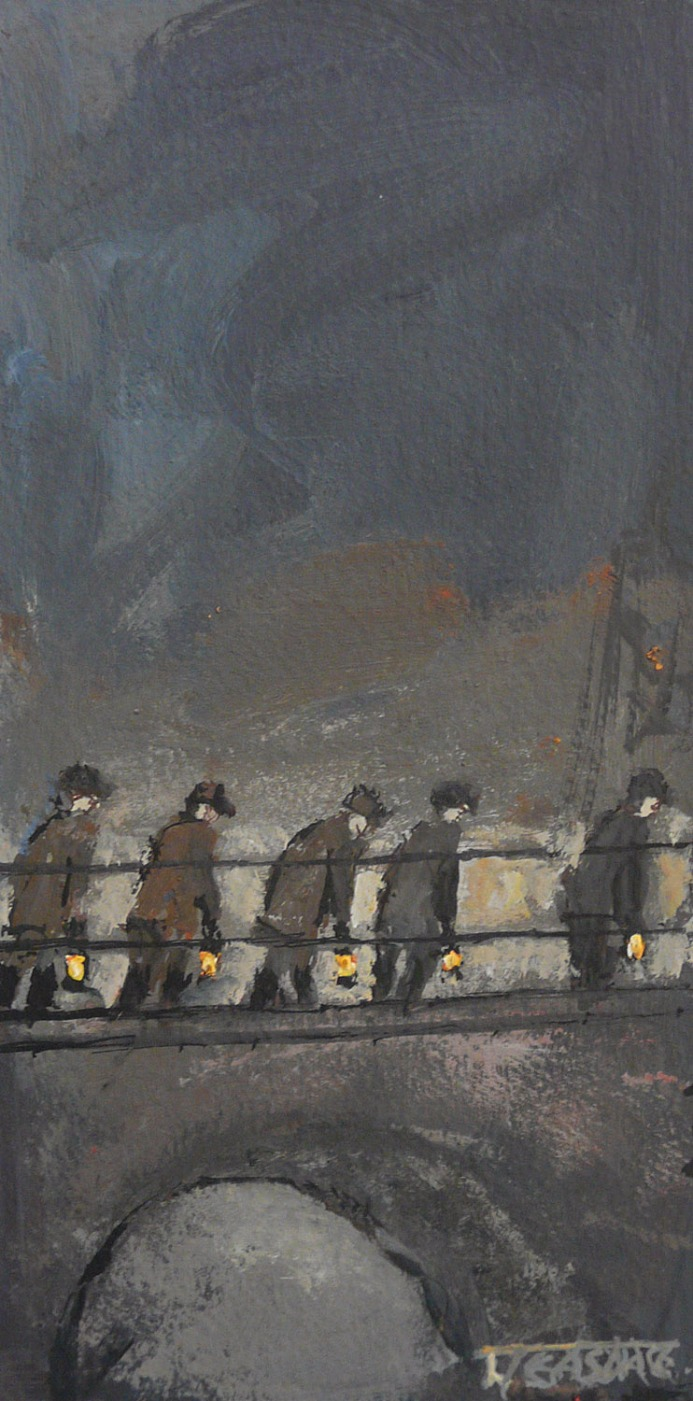 Heading to the Gantry by Malcolm Teasdale
