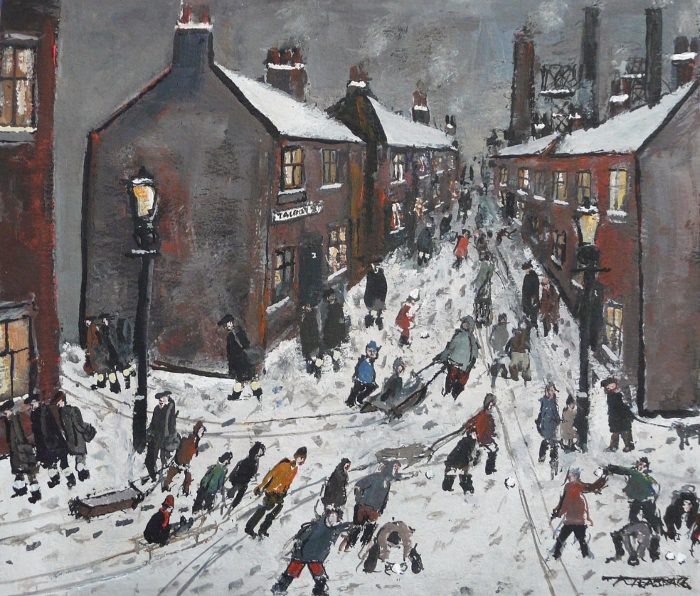 Winter has Arrived by Malcolm Teasdale