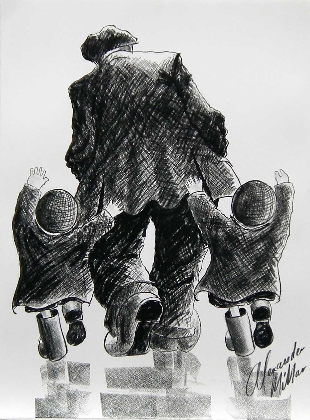 Just so excited by Alexander Millar