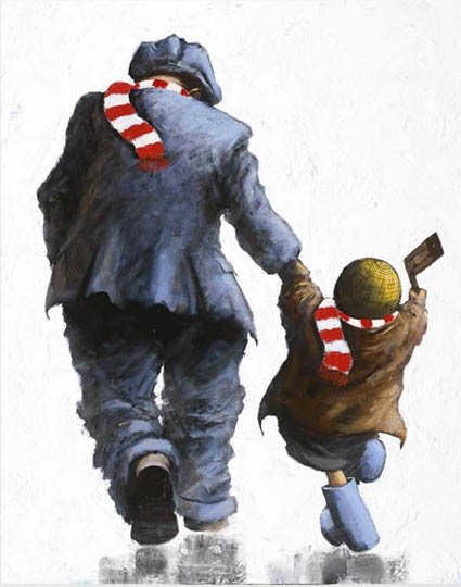 Come on You Reds! by Alexander Millar