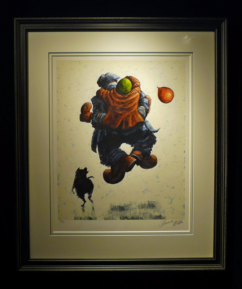 Over the Moon by Alexander Millar
