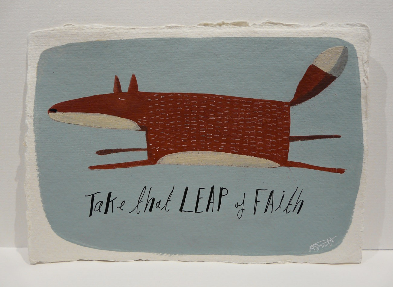 Take that leap of Faith by Angela Smyth