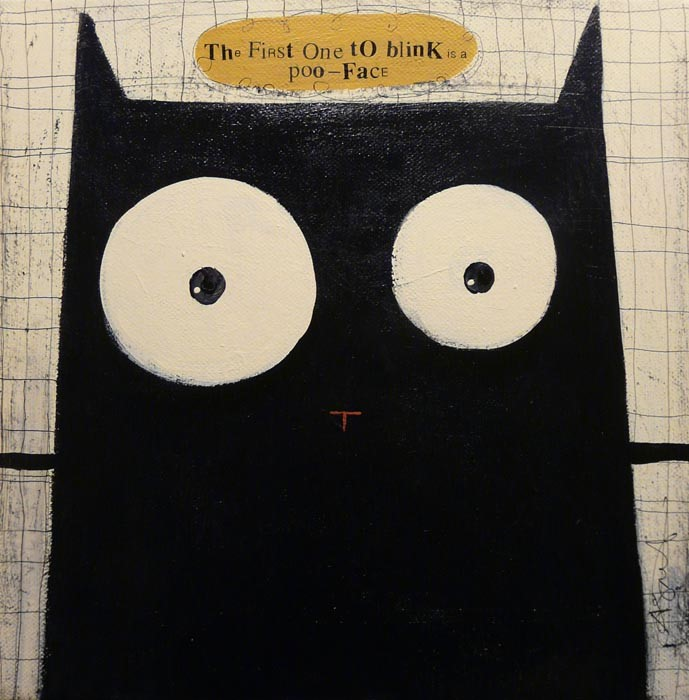 The First One to Blink is a Poo Face by Angela Smyth