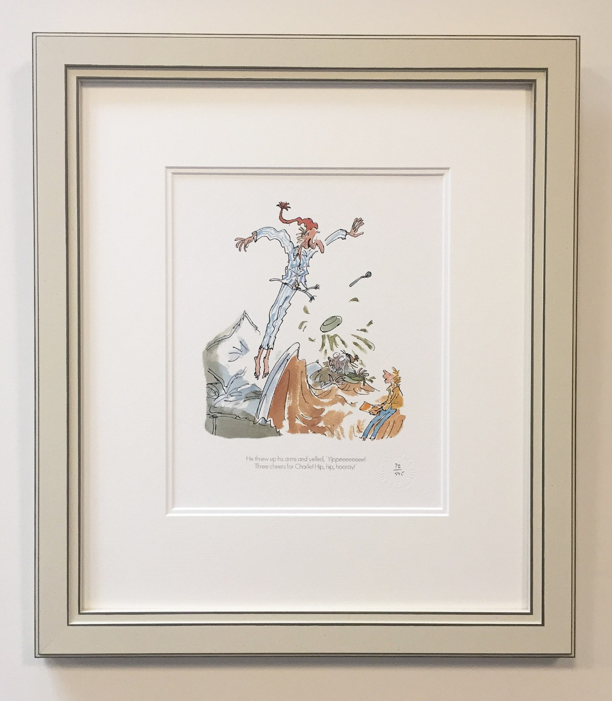 Three Cheers for Charlie! by Quentin Blake