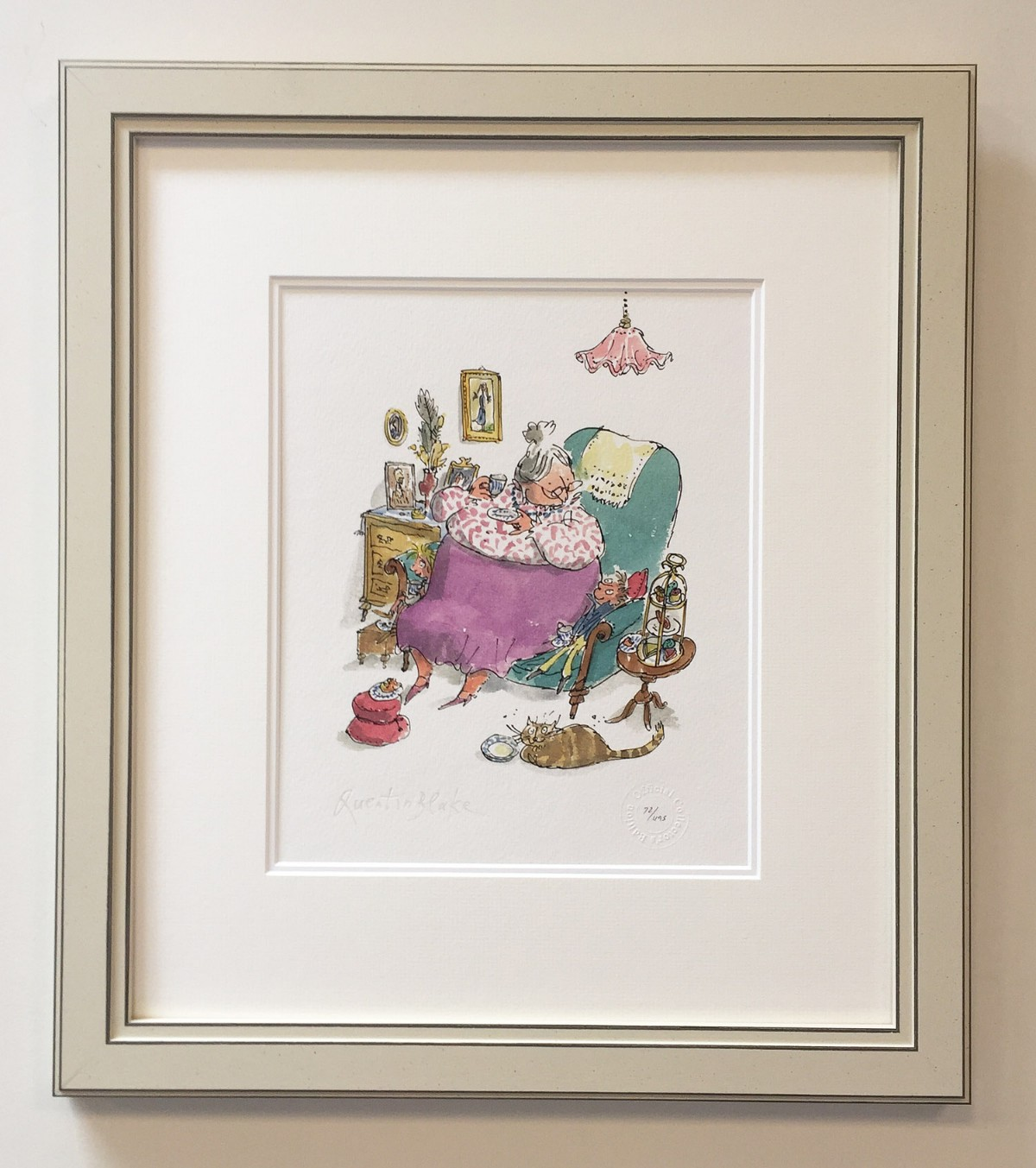 G is for Grandma by Quentin Blake