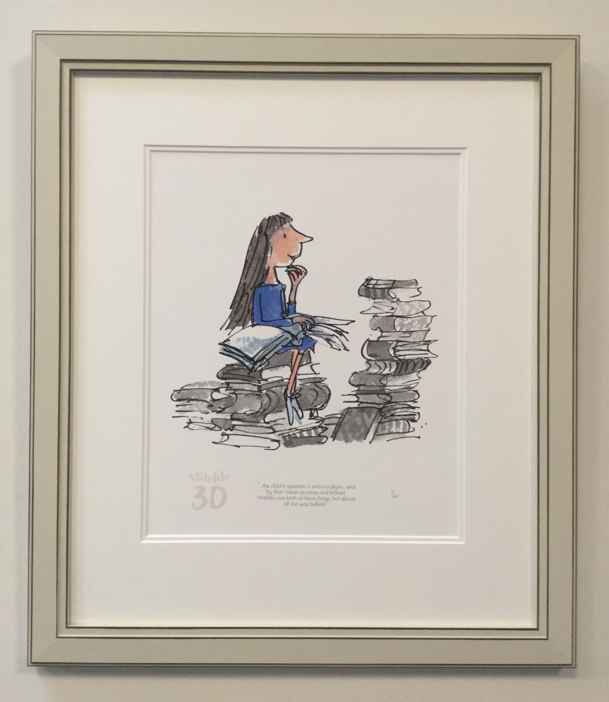 Matilda 30th - The Child in Question is Extra-ordinary by Quentin Blake