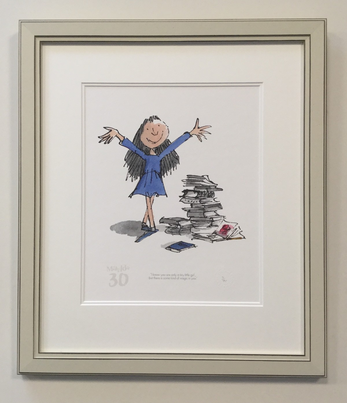 Matilda 30th - A Kind of Magic in You by Quentin Blake