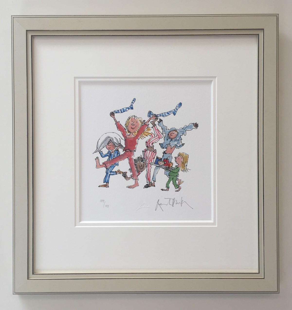 (Signed) - Bedtime by Quentin Blake