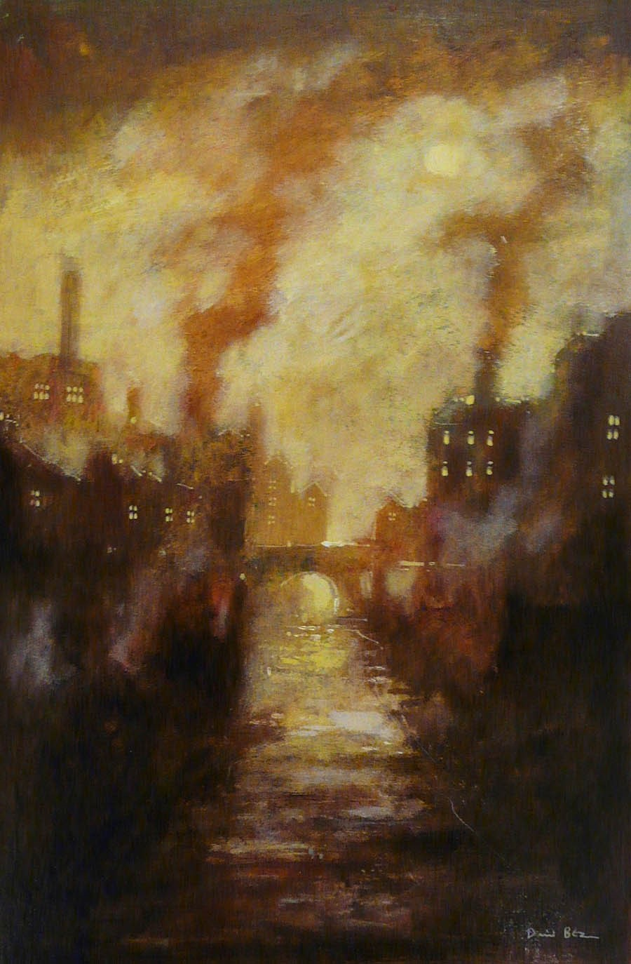 Sun through Mist by David Bez