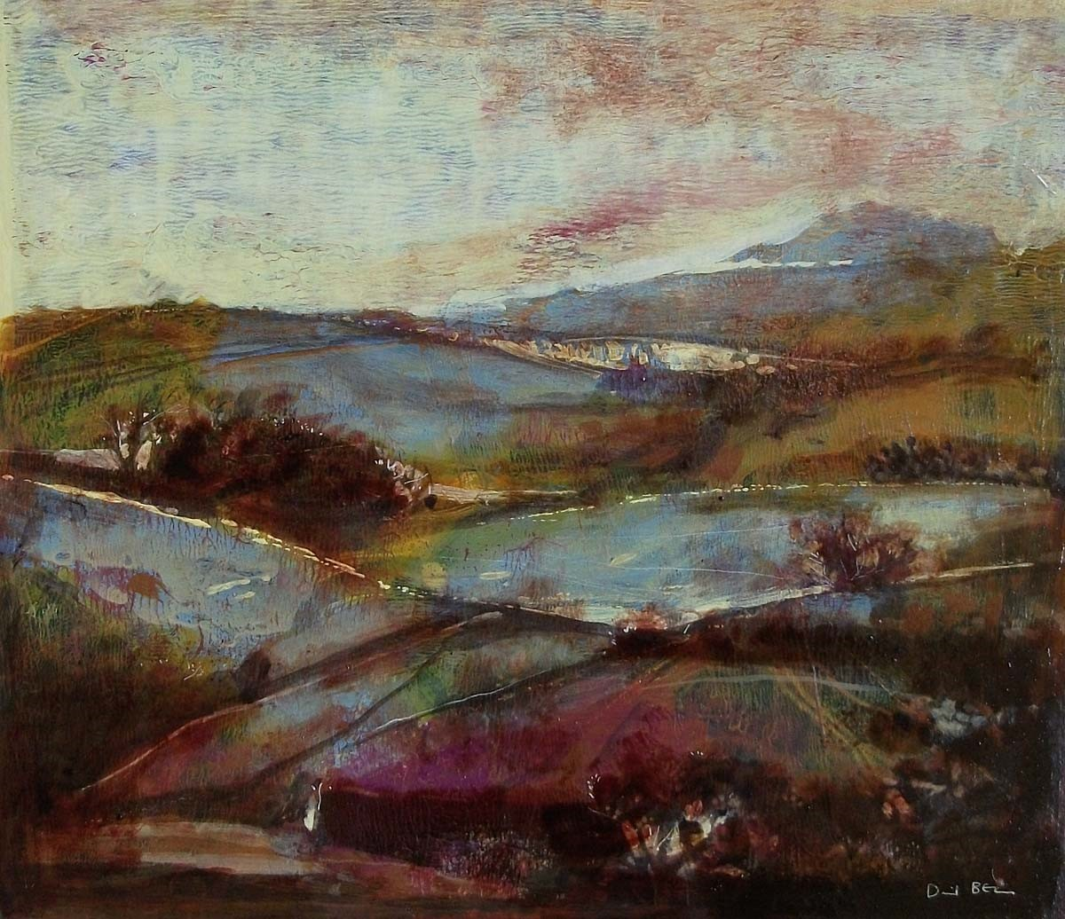 View across the Moors by David Bez