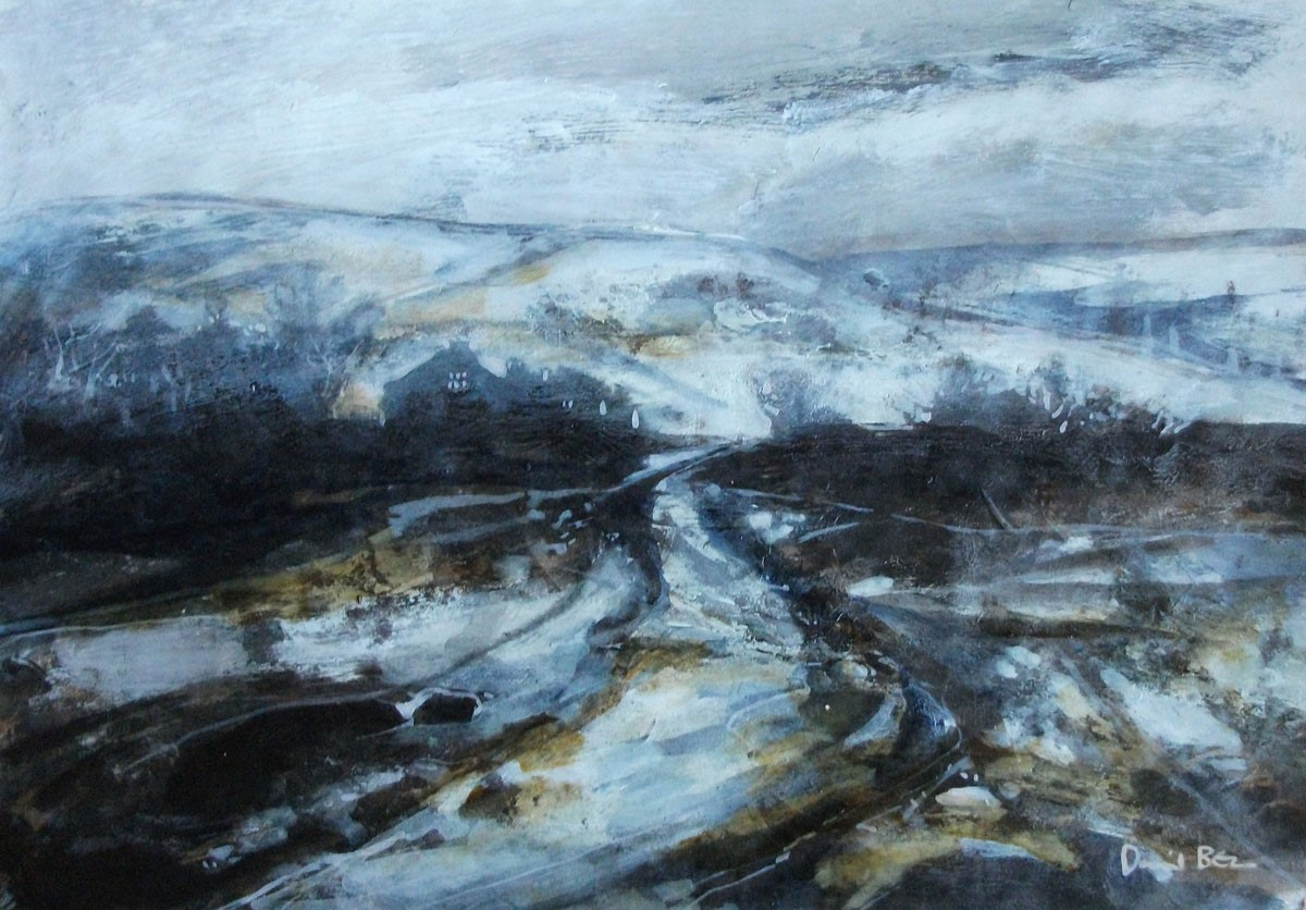 In snow by David Bez