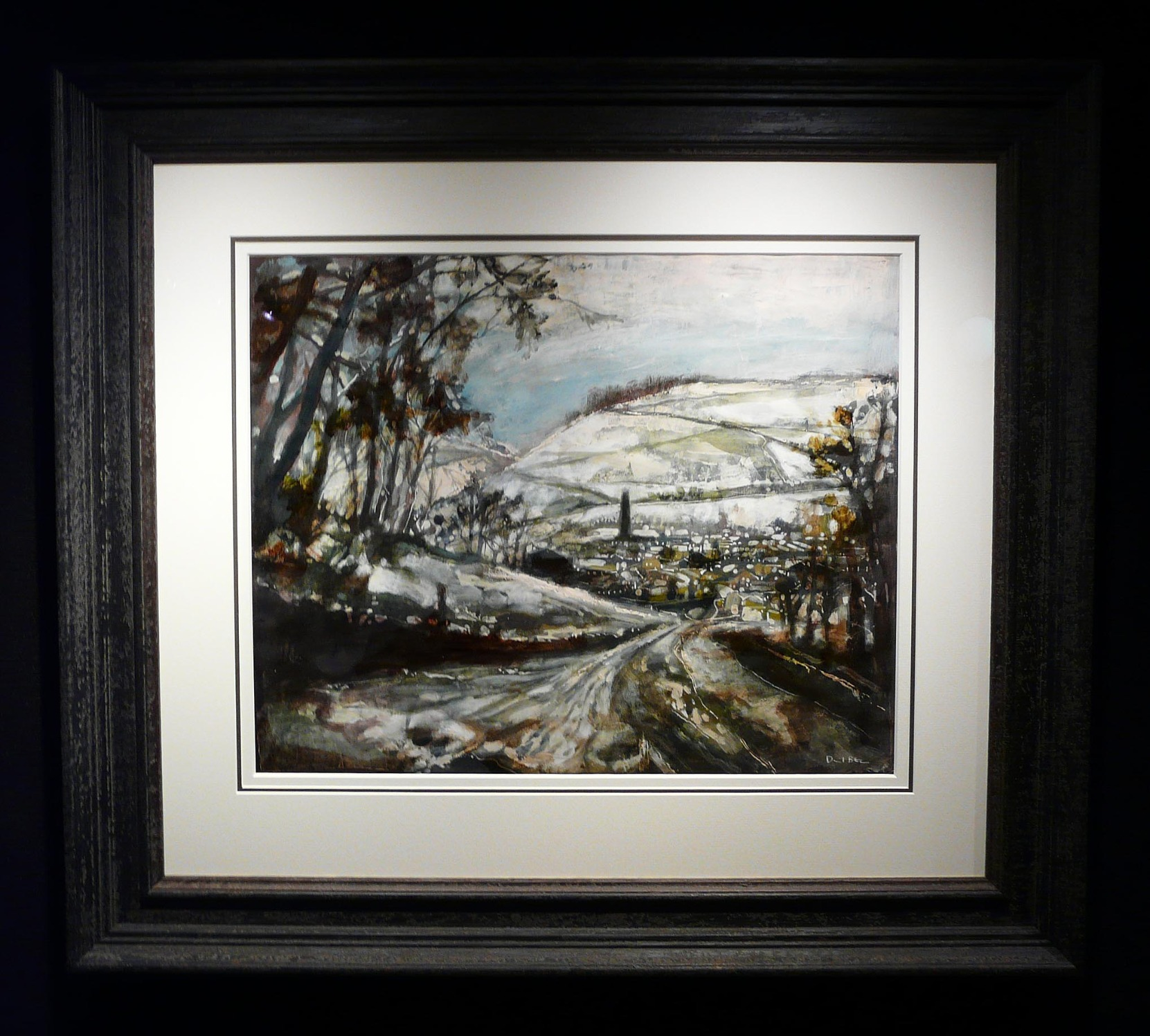 The Only Road into Town by David Bez