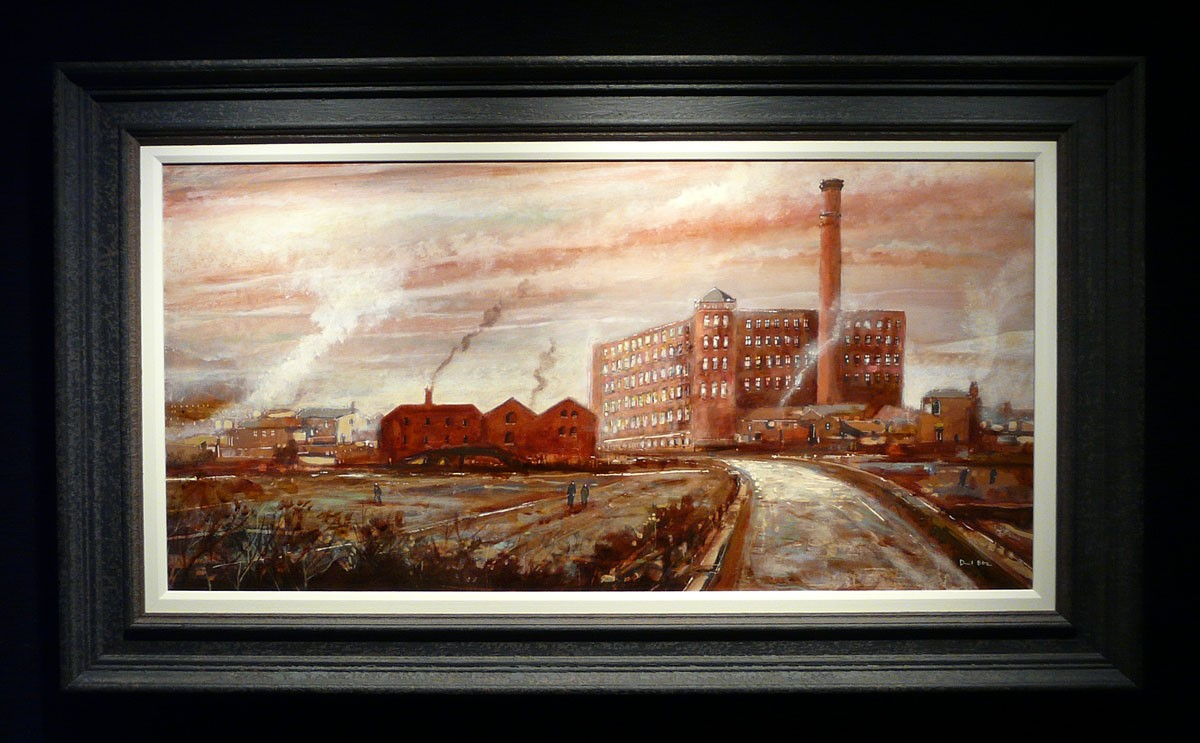 Tudor Mill, Ashton under Lyne by David Bez