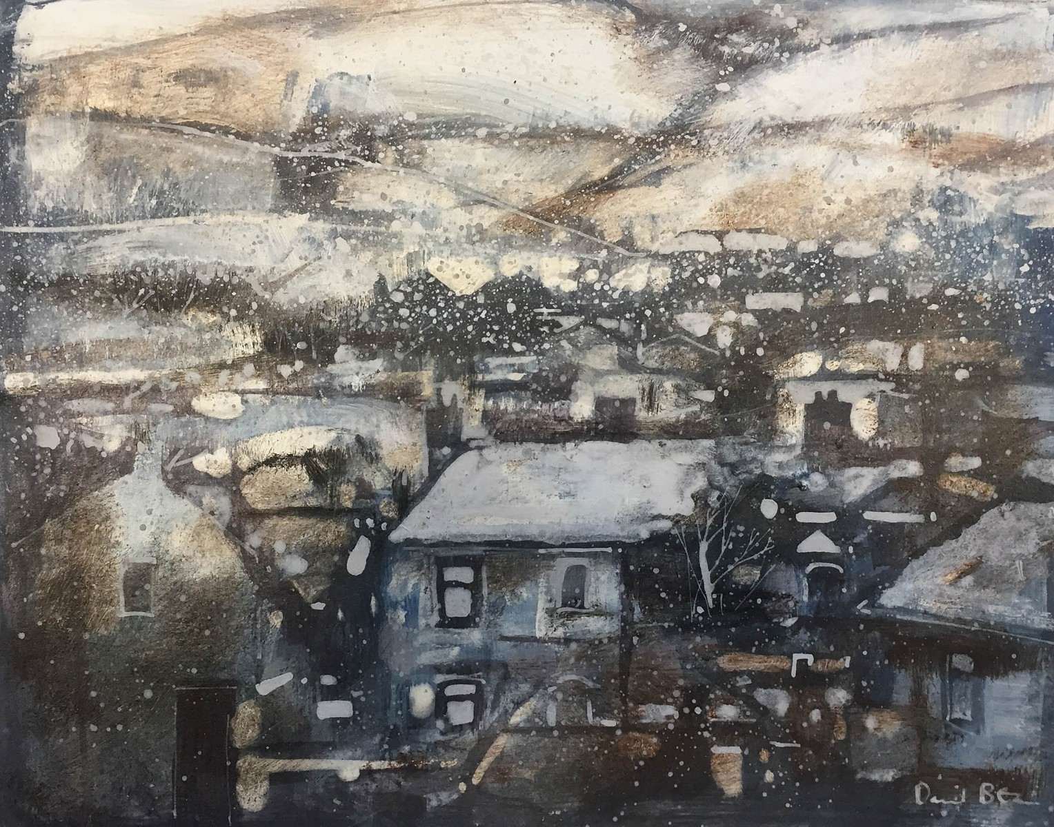 Settling in Town by David Bez
