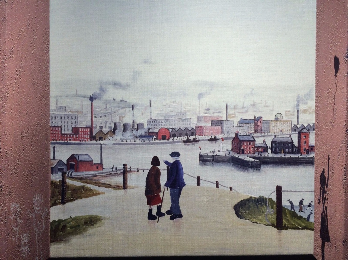 Two Canals by John D Wilson, 3D | Lowry | Northern