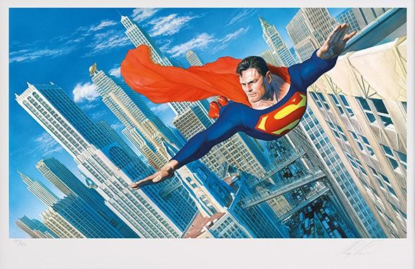 DC Comic Portfolio of Four by Alex Ross, Comic | Nostalgic | Film