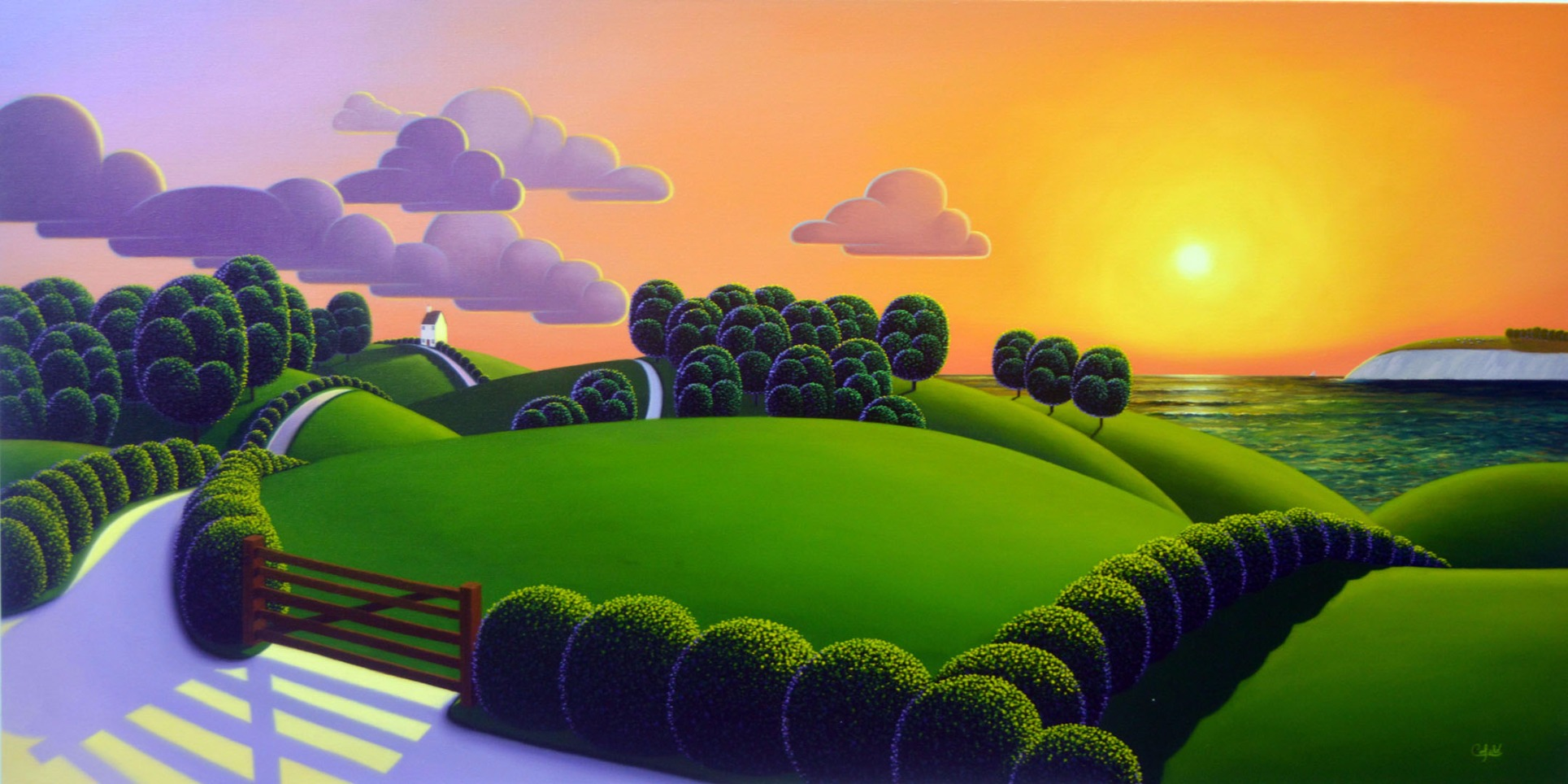 closing of the day by paul corfield the hawthorn gallery
