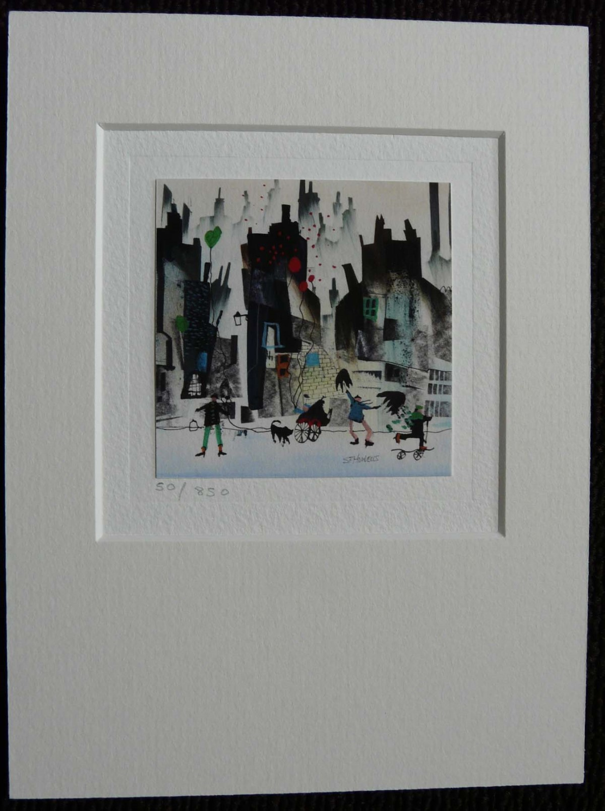 Limited Edition Card (AC66) by Sue Howells, Cards