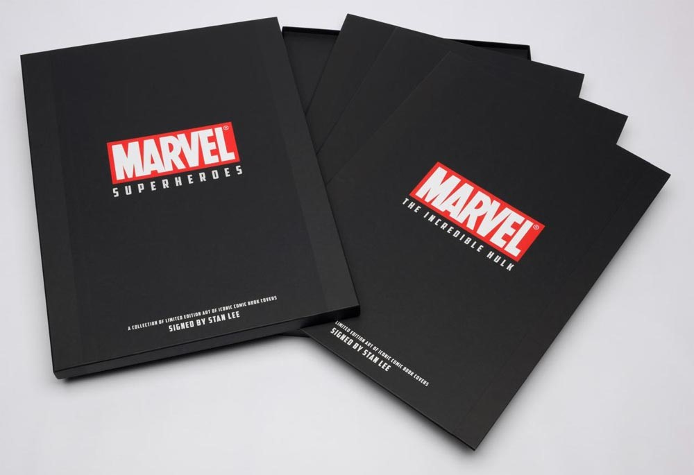 Second Portfolio Collection by Marvel Comics - Stan Lee