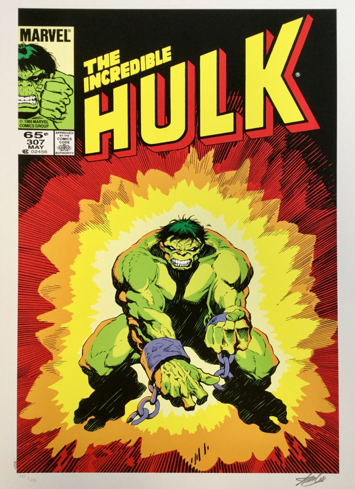 The Incredible Hulk by Marvel Comics - Stan Lee