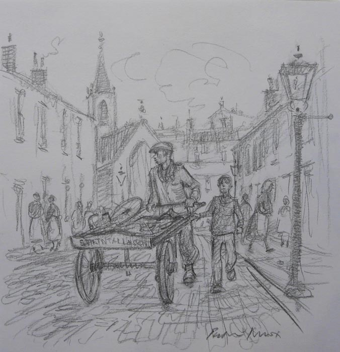Dads Street Cart by Peter Knox